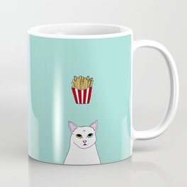 Fat D. Loves Fries Coffee Mug