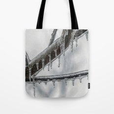 Icy Branch Tote Bag