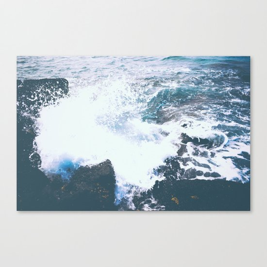 BREAKING POINT Canvas Print