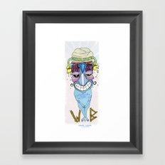 urban turban Framed Art Print