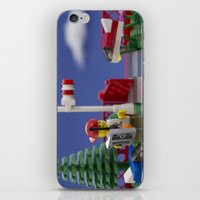 airplanes iPhone & iPod Skins featuring Airplanes by Pedro Nogueira