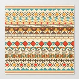Aztec pattern 03 Canvas Print