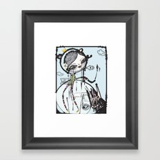 do you want to build a snowman? Framed Art Print