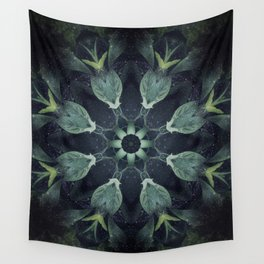 Moon Garden Wall Tapestry