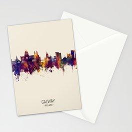 Galway Ireland Skyline Stationery Cards