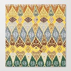 70's pattern  Canvas Print