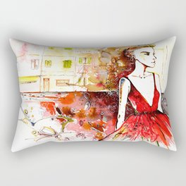 La dolce vita  Rectangular Pillow