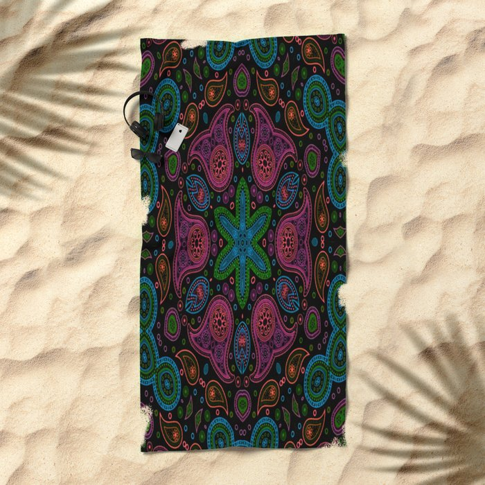 Mercedonius Beach Towel