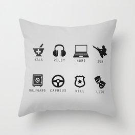 Sense8 Minimalist Throw Pillow