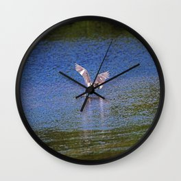 Grabbing Lunch Wall Clock