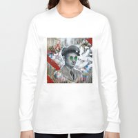 soldier Long Sleeve T-shirts featuring The Forgotten Soldier by FAMOUS WHEN DEAD