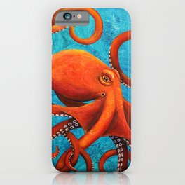 Holding On - Octopus iPhone Case