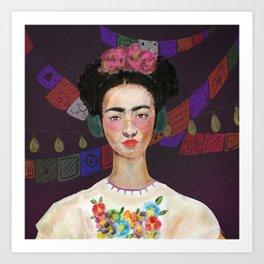 Free Frida Art Print