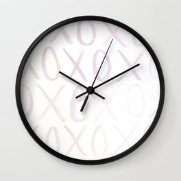Exes and Ohs Wall Clock