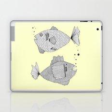 2 fish Laptop & iPad Skin
