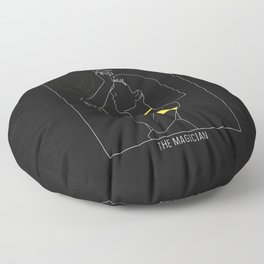 The Magician - Tarot Illustration Floor Pillow