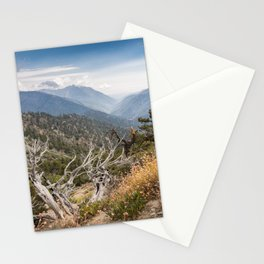 Inspiration Point along Pacific Crest Trail Stationery Cards
