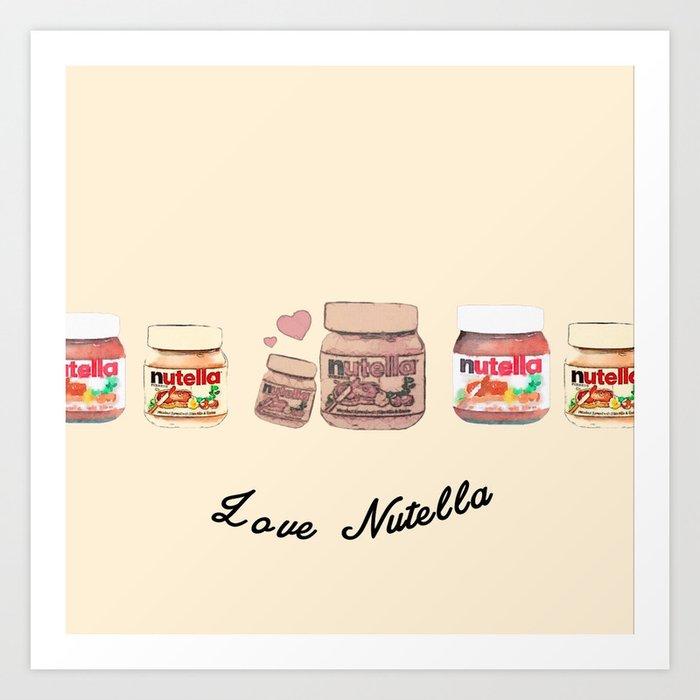 Nutella-324 Art Print