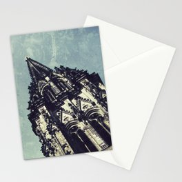 Ruined WW2 Church Stationery Cards