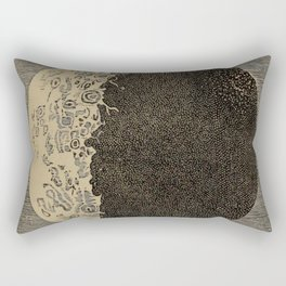 Five Day Moon Rectangular Pillow
