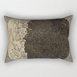 Five Day Moon Rectangular Pillow
