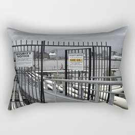 The Open Security Gate Rectangular Pillow