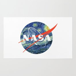 nasa starry night Rug