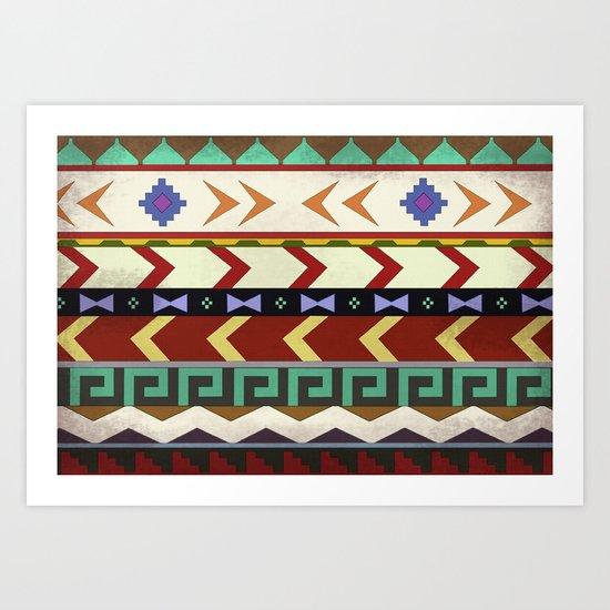 Dreamwalker Pattern Art Print