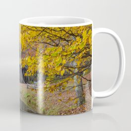 Rustic Mill in Autumn Coffee Mug