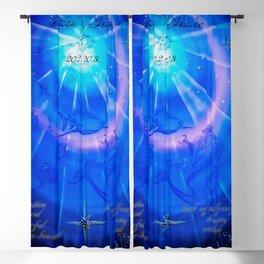 Zodiac sign Pisces Blackout Curtain