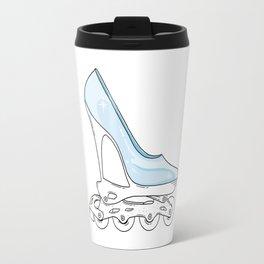 Roller glass shoes Travel Mug