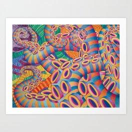 Tentaculon 2 Art Print