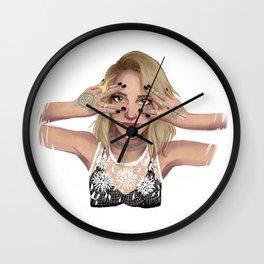 Coachella Mood Wall Clock