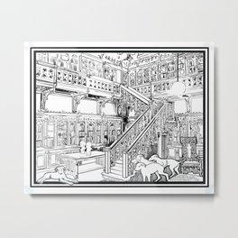 Borzoi puppies Metal Print