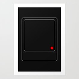 Annoying Thought Art Print