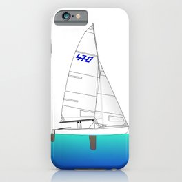 470 Olympic Sailing iPhone Case