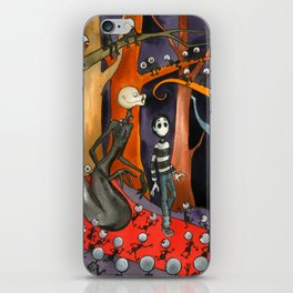 The Forest of Mirrors iPhone Skin