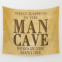 Man Cave Wall Tapestry