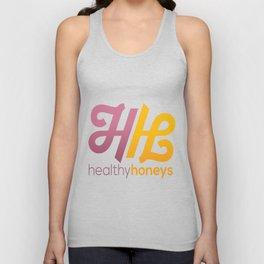Healthy Honeys Logo! Unisex Tank Top