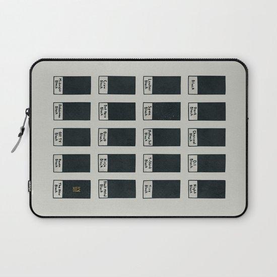 The New Black Laptop Sleeve