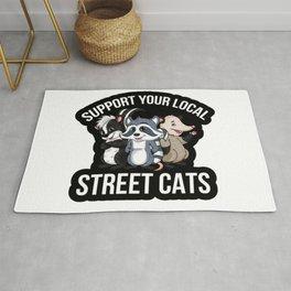 Cats Street Rug