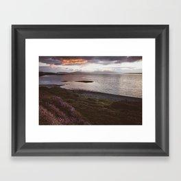 Ganavan Bay - Landscape and Nature Photography Framed Art Print