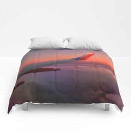Over the Sunset Comforters
