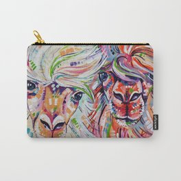 Hello - Alpaca Painting Carry-All Pouch