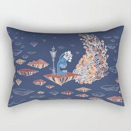 Alien Monster Rectangular Pillow