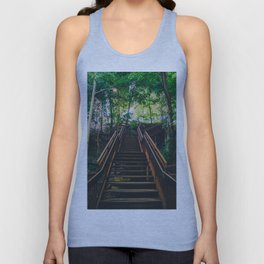 Stairs of Summer and Adventure Unisex Tank Top