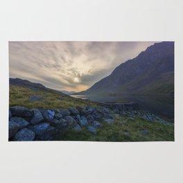 Llyn Ogwen Sunrise Rug