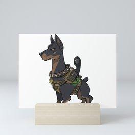 K9 Service Dog - Tactical Dog Protection Training Gift Ideas Mini Art Print