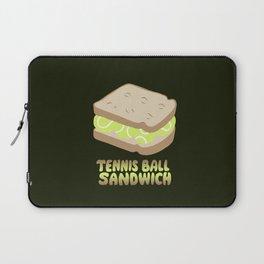 TENNIS BALL SANDWICH Laptop Sleeve