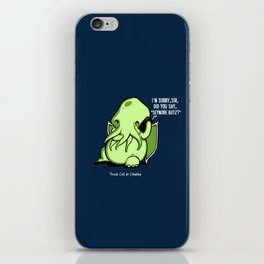 Prank Call of Cthulhu iPhone Skin